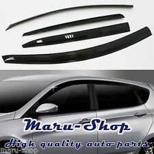 Smoke Door Window Vent Visor Deflector for 12~ Hyundai Accent/Verna 5DR