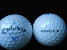 """20  CALLAWAY  """"HX  PEARL"""" - Golf Balls - """"PEARL/A"""" Grades."""