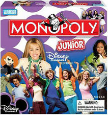 DISNEY CHANNEL MONOPOLY JR.~ HANNAH MONTANA NEW AND STILL SEALED IN SHRINK WRAP