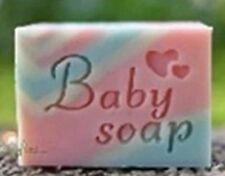 """8044 """"baby soap"""" Handmade Tree Resin Soap Stamp Seal Soap Mold Mould  4x4cm"""