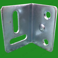 "2x 38mm (1.5"") Stretcher Plate Angle Brackets, Horizontal & Vertical Screw Slots"