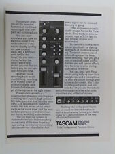 retro magazine advert 1980 TASCAM portastudio