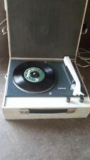 vintage RECORD PLAYER TURNTABLE design 1960s 70s LENCO PHONOBOY SWITZERLAND
