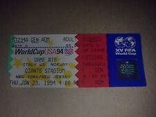 Ticket Italy - Norway 1994 World Cup USA