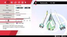 Pokemon Bamboiselle    shiny 6IV + masterball - Battle Ready - Epée / Bouclier