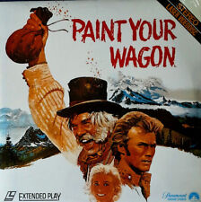 PAINT YOUR WAGON - LEE MARVIN, CLINT EASTWOOD - (2) LASER DISC SET -STILL SEALED
