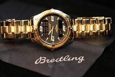 Men's Wristwatch Breitling Aerospace Solid 18k Yellow Gold