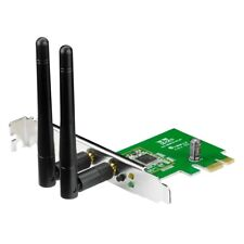 Asus PCE-N15 N300 300Mbps 2.4GHz PCI Express Wireless WiFi Network Card Adapter