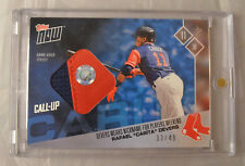 2017 Topps Now Rafael Devers Players Weekend Jersey Patch Relic PWR-6C to 49