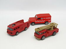 Corgi Junior 1/64 - Lot de 3 Vehicules de  Pompiers