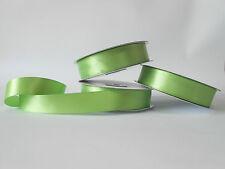 Nastro doppio raso 25 mm rotolo bobina da 50mt verde napoli fai da te -art D2528