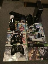 Microsoft Xbox 360 Slim with Kinect, 3 controllers  and accessories