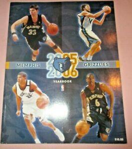 2005 - 06 Memphis Grizzlies Yearbook