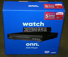 ONN HDMI DVD Player with Remote!