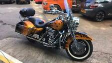 Harley Davidson Road King Custom. real flame paint New Mot 17,500 miles. px swap