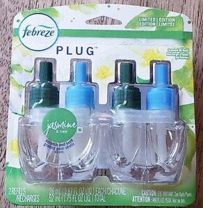 Febreze Plug JASMINE & LIME Air Freshener Refills Limited Edition