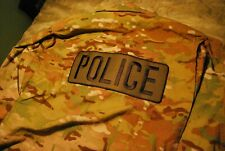 Multicam Uniform Top W/Police Patch on Back LG/Long