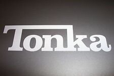 Tonka Logo Vinyl Decal Sticker Truck RED 7""