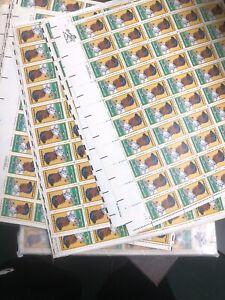 1982 20 cent Jackie Robinson 100 full sheet of 50 Scott #2016