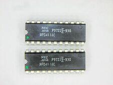 """UPD411AC """"Original"""" NEC  22P DIP IC  2  pcs"""