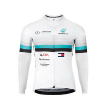 mens Team UBS Cycling long sleeve jersey Thermal Fleece cycling jerseys