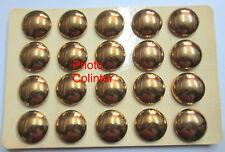 Ensemble de 20 Boutons mle 1946 dorés - Officier ou  Sous-Off.- Diamètre  25mm