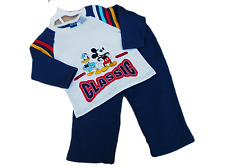 BNWOT  Boys Disney 2 piece Jogging suit  sweat Top and pants BARGAIN SALE £7.99