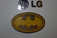 Bat Man Magnet Walnut Refrigerator Magnet American Made/ Homemade