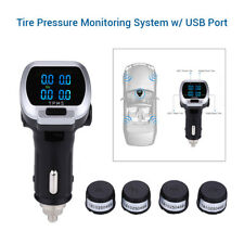 Wireless Tyre Pressure Monitoring System TPMS + 4 External Sensor For Luxes Ford