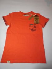 Tokyo Laundry Boys Akamu Contrast Pocket T-Shirt Paprika Size 7-8 BNWT RRP £12.9
