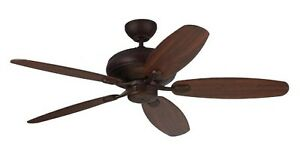"""Monte Carlo Ceiling Fan Centro Max 52"""" Without LIght  Roman Bronze 5CQM52RB"""
