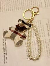 Schlüsselanhänger Taschenschmuck Anhänger Luxus Nova Check Bär Karo Muster Teddy