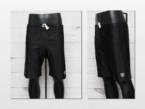 NFL Equipment Reebok Men's 3XL Black Base Layer Compression Shorts New