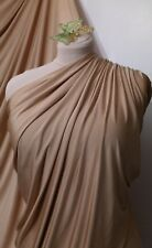 "GOLD Jersey Lycra Spandex 4 Way Stretch Fabric Dress, Prom, Dance Wear 60"" 150cm"
