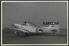 Fokker S11 Instructor E1 Ready for Take Off. 7 inch x 4.75 inch Photograph