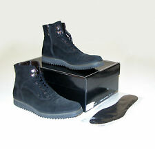 Cesare Paciotti 29500 Black Suede Casual Dress Boots - Sz 7.5 / US 9.5 Ret $539