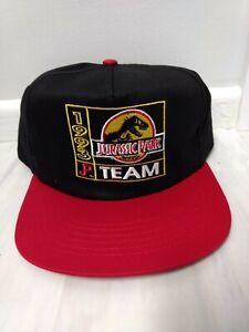 NEW VintageMCDONALD'S Jurassic Park 1993 Team Hat Cap