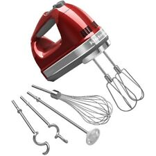 9-Speed Candy Apple Red Hand Mixer