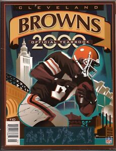2000 Cleveland Browns Official Yearbook Football Team NFL