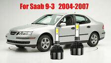LED For Saab 9-3 2003-2007 Headlight Kit H7 6000K White CREE Bulbs Low Beam