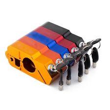 Motorcycle Aluminum Handlebar CNC Aluminum Throttle Grip Security Lock Handlebar