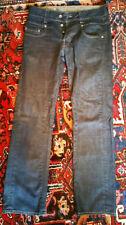 Cotton Indigo, Dark wash Extra Long Rise 34L Jeans for Men