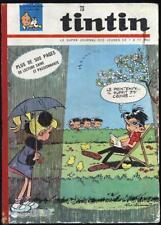 Tintin super journal n°73 reliure n°9-18 1965