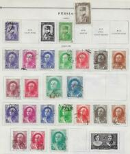 24 Middle Eastern Stamps from Quality Old Antique Album 1933-1939
