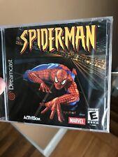 Spider-Man (Sega Dreamcast, 2001) factory sealed