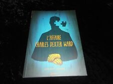 Lovecraft / Culbard : L'affaire Charles Dexter Ward Editions Akiléos 2012