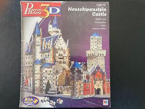 Puzz3D Neuschwanstein Castle Wrebbit Puzzle 836 PCs Advanced