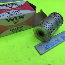 Chrysler;  GM;  Caterpillar;  Fuel filter.    Wix CW-271MP.   Item:  7753