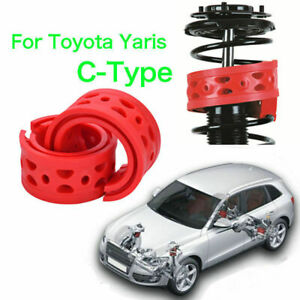 2pcs Front Shock Absorber Spring Bumper Power Cushion Buffer For Toyota Yaris