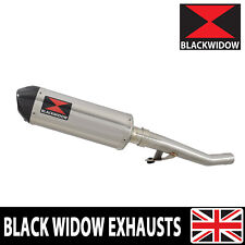 GSX750 Inazuma Exhaust Muffler Kit Oval Stainless + Carbon Tip 300ST